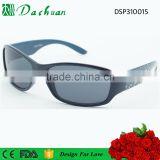 Better quality PC injection football pattern boy sports sunglasses with football pattern