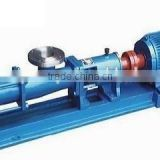 Stainless single stage Single screw pump