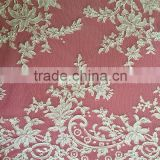 2015 Italian bridal lace fabric for wedding dress wholesale SAY112C
