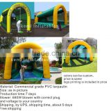 Inflatable golf net Inflatable golf range Inflatable games