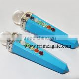 Turquoise Chakra Healing Obelisk From Prime Agate Exports | Wholesale Healing Crystals | Chakra Healing wand Supplier