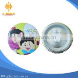 Custom smile baby face button badge 58mm