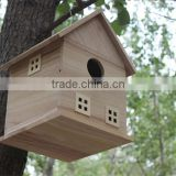 cheap wholesale unfinished wooden craft boxes bird cage gift box