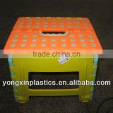 clear plastic foldable plastic lightweight folding stool