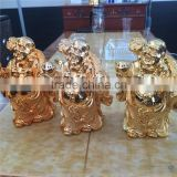 real 24k gold plating Buddhism figure of Buddha old Buddhkla gold plating processing factory