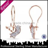silver jewelry bali earrings