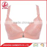 OEM service deep V-shape push up women lingerie ladies sexy net bra sets sexy bra panty set
