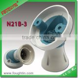 B22 two pin type angle lamp holder with HO skirt B22 lampholder