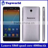 HOT!! Lenovo mobile phone Lenovo S860 MTK6582 quad core with android 4.2 RAM1G+ROM16G 4000mAh big battery