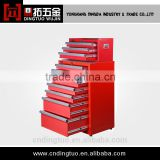 rolling red 72 tool cabinet DT-631+DT-472