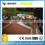 Morden house design 138*23mm hot sale co-extruded Wood & Plastic Composite Outdoor Decking
