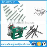 High quality nail making machine price/ low carbon steel wire nail making plant for sale