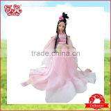 28cm Chinese mini plastic fairy toy doll