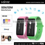 New Fashionable silicone bracelet with metal clasp digital heart rate monitor with OLED display