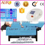 Au-6809 Factory outlet! pressotherapy infrared cellulite reduction electronic body massger machine with lymphatic drainage