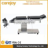 Carejoy CE&ISO approved adjustable surgical electric operating bed/clinical hospital operating table