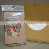 Japanese ABURATORI-GAMI (Oil Blotting Paper / Oil Absorbent Tissue)