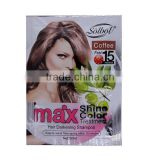 A wash black hair color shampoo products water wash out hair dye manufacturer hair colourant