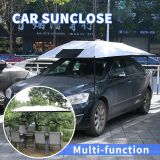 2017 trending products factory wholesale uv resist sun protection car cover printing car sunshade