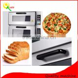 2016 Industrial bakery equipment bread baking commercial stainless steel electric pizza oven