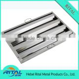 European Style Stainless Steel Grease Filter for Range Hood