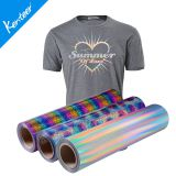 High quality hologram heat transfer vinyl 50cm*25m one roll