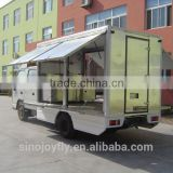 mobile food vending truck for sale coffee cart of china