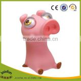 Custom squeeze pig toy,OEM vinyl squeeze pig toy,Making vinyl flashing squeeze toys wholesale
