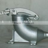 Hand operated stainless steel 8LBS sausage stuffer