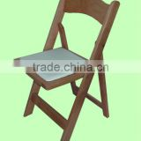 wholesales solid wood slat folding chair for relax