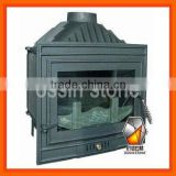 Modern cast iron insert stove with CE ST007
