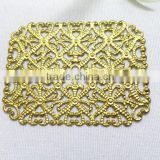 filigree square flower jewelry accessories