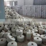 China hot wholesale ne7s-21s CVC 65 35 recycled cotton blended weaving yarn for glove by TAITAN machine