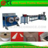 eva foam sofa solid piping/seam binding/profile extrusion machine