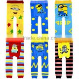lovely cartoon animal design baby pants tights