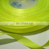 Bright green thick Wholesale inelasticity reflective nylon web