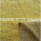 Gold and silver line core silver gold and silver silk fabrics thick needle jacquard knitting fabric