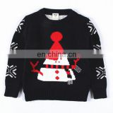100% cotton Latest Ugly Christmas sweater for kids