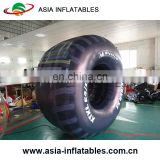 2mH PVC Tarpaulin Inflatable Tires For Outdoor Advertising, Inflatable Wheels Model