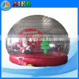 Christmas snow tent for taking photos, inflatable Christmas snowball, inflatable snowball