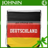 cheap promotional printing all kinds of country flag drawstring bags