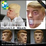 wholesale high quality factory price latex president trump face mask