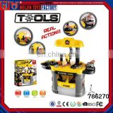 Toy mechanic tool box set for kids,kids tool box set toy for sale