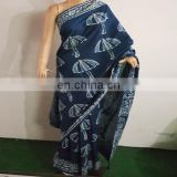 Beautiful Hand Block Printed Indian Saree For Women