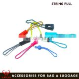 Wholesale fancy custom personalized decorative zipper pulls colored zipper pull for garment accessories