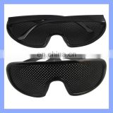 New Arrival Eyes Exercise Black Pinhole Glasses Vision Eyesight Improve Wholesale