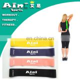 "Highest Quality Athleema Set of 5 Loop Bands 10"" X 2"" the Best Exercise Loop Resistance Bands for Any people"
