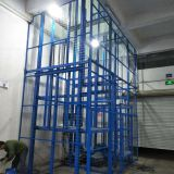 Hydraulic Cage Lift Hydraulic Passenger Lift Anti-rust Plastic Coated Safety Mesh Enclosure