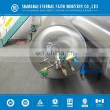 3cubic meter Liquid Cryogenic cylinder gas refilling device steel Cylinder for O2 H2 CO2