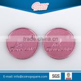 Factory supply vending coins for Amusement, Gaming, Car Wash etc